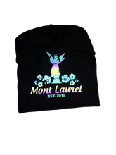 Load image into Gallery viewer, Mont Laurel RAINBOW reflective hoodie
