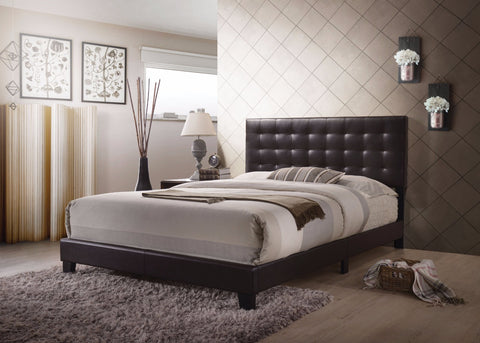 Sophisticated Transitional Style Queen Size Padded