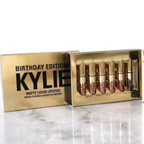 Kylie Jenner Birthday Edition Matte Liquid Lipstick 6 Pcs