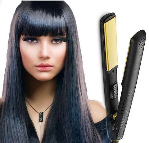 Gold Professional Styler, Ceramic Flat Iron for Hair - GHD High Copy