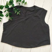 Fitness Yoga  Crop top loose T-Shirts for Women Workout