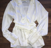 White Button Long Sleeve