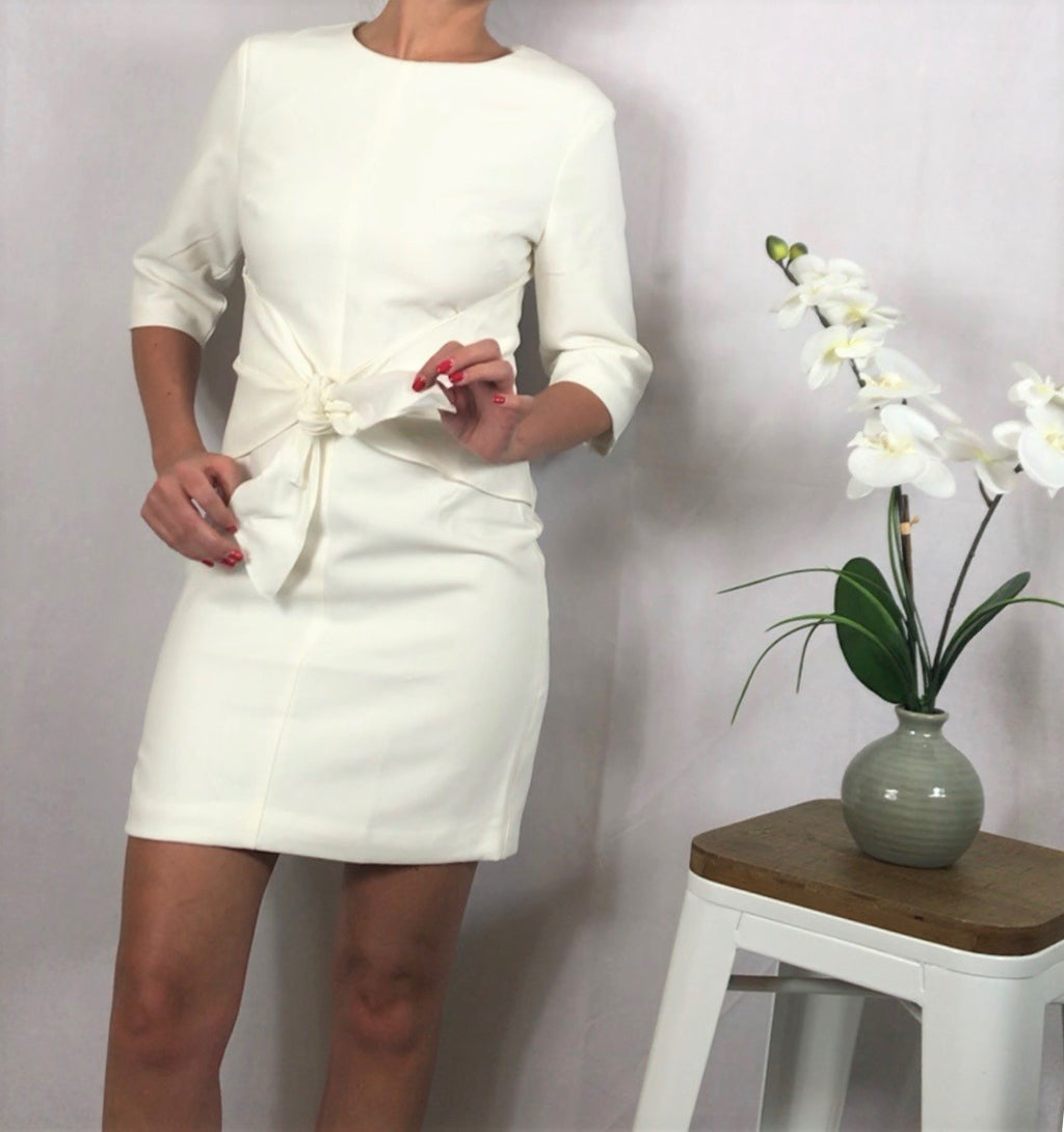 White Rehearsal Dress