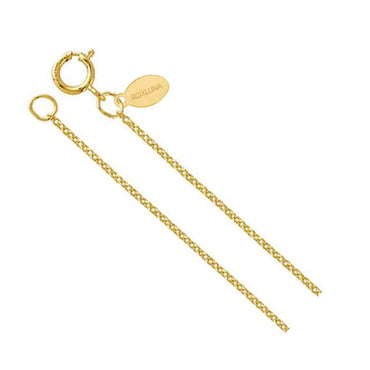 Gold Filled Plain Chain - 16 inch