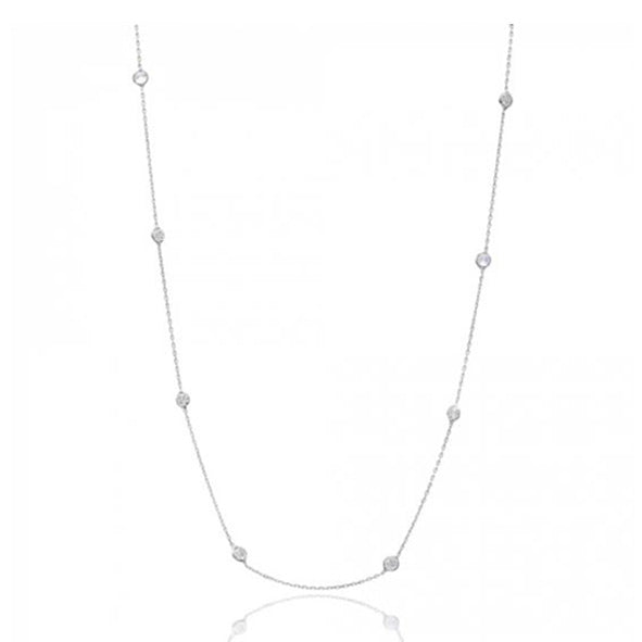 Long Layering Necklace in Sterling Silver