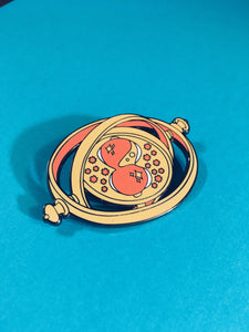 Time Turner Enamel Pin