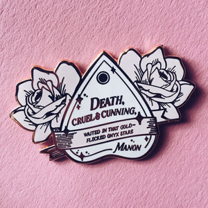 Manon Inspired Enamel Pin