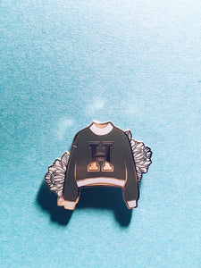 Hogwarts House Sweater Enamel Pin