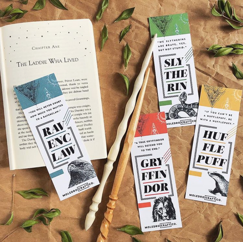 Color Block Harry Potter Bookmark