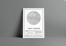 Load image into Gallery viewer, A Darker Shade of Magic Poster I Red London I White London I Black London I Gray LondonI V E Schawb
