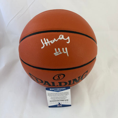 Jaylen Hands signed Basketball BAS Beckett UCLA Bruins autographed