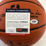 Charles Barkley signed Basketball PSA/DNA Suns Sixers autographed TNT