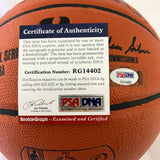 Kris Wilkes signed Basketball PSA/DNA UCLA Bruins autographed