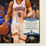 Russell Westbrook signed 8x10 photo BAS Beckett Oklahoma City Thunder Autographed