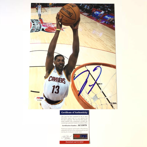 Tristan Thompson signed 8x10 photo PSA/DNA Cleveland Cavaliers Autographed
