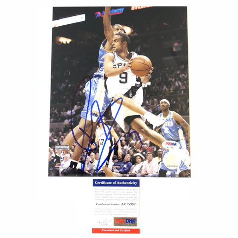 Tony Parker signed 8x10 photo PSA/DNA San Antonio Spurs Autographed