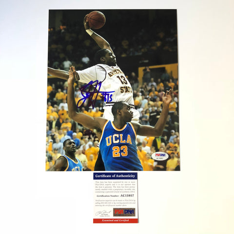 James Harden signed 8x10 photo PSA/DNA Houston Rockets Autographed Arizona Sun Devils