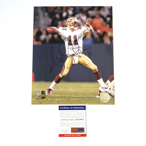 Alex Smith signed 8x10 photo PSA/DNA San Francisco 49ers Autographed