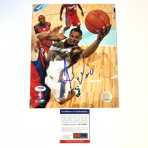 Russell Westbrook signed 8x10 photo PSA/DNA Oklahoma City Thunder Autographed
