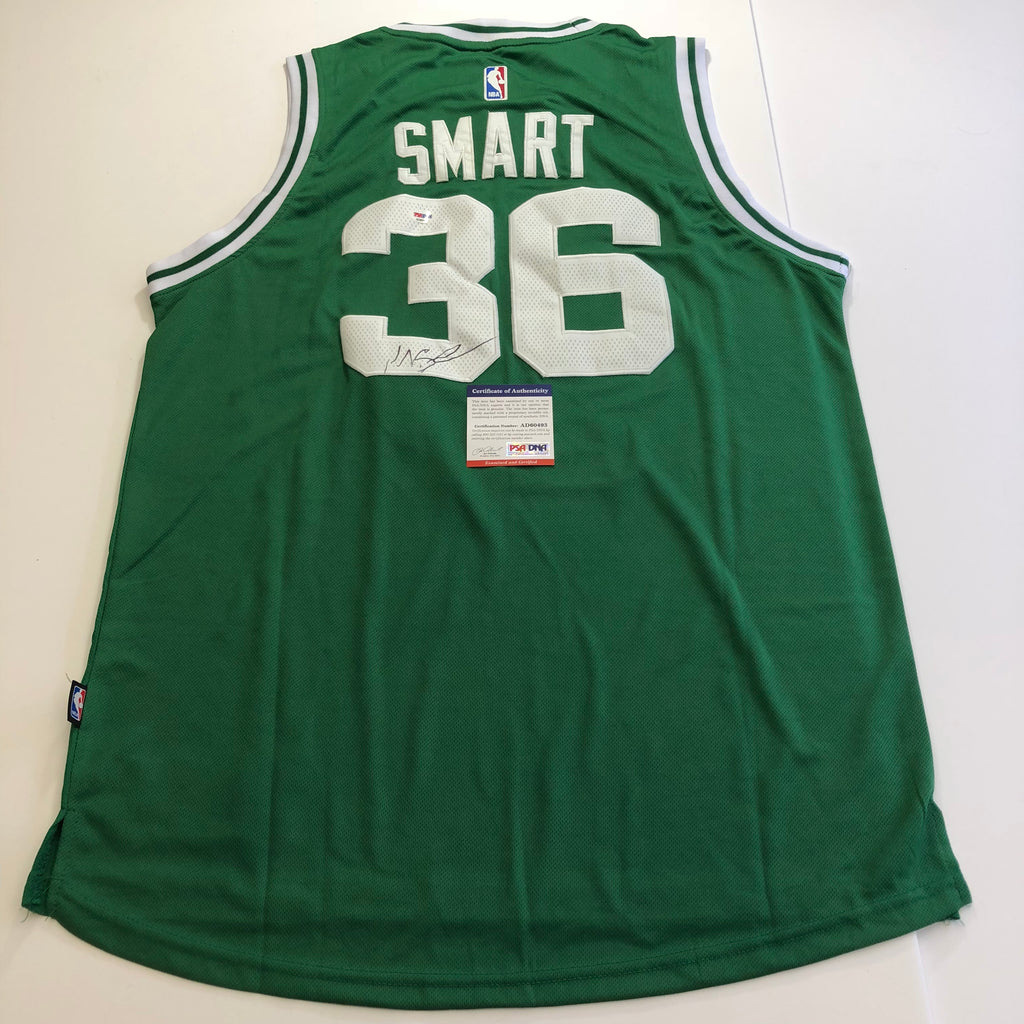 8cd21b131 Marcus Smart signed jersey PSA DNA Boston Celtics Autographed Green ...