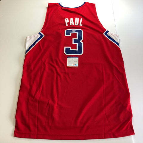 Chris Paul signed jersey PSA/DNA Los Angeles Clippers Autographed Red
