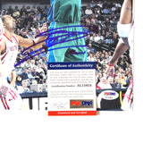 Dirk Nowitzki signed 8x10 photo PSA/DNA Dallas Mavericks Autographed