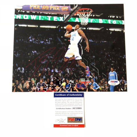 Dwight Howard signed 8x10 photo PSA/DNA Orlando Magic Autographed