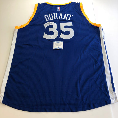 Kevin Durant signed jersey BAS Beckett Golden State Warriors Autographed