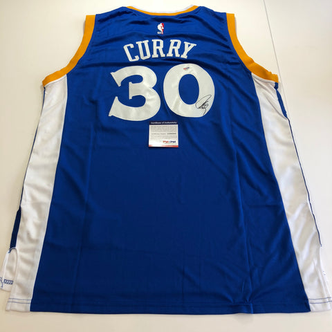 b0025e6fd58 Stephen Curry signed jersey PSA/DNA Golden State Warriors Autographed