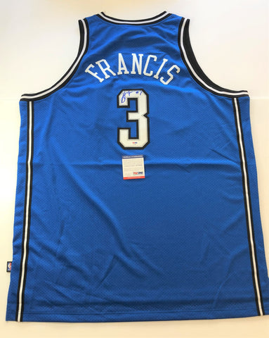 Steve Francis signed jersey PSA/DNA Orlando Magic Autographed