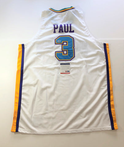 Chris Paul signed jersey PSA/DNA New Orleans Hornets Autographed White