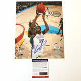 Kevin Durant signed 8x10 photo PSA/DNA Oklahoma City Thunder Autographed