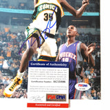Kevin Durant signed 8x10 photo PSA/DNA Seattle Supersonics Autographed