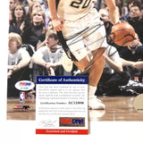 Manu Ginobili signed 8x10 photo PSA/DNA San Antonio Spurs Autographed