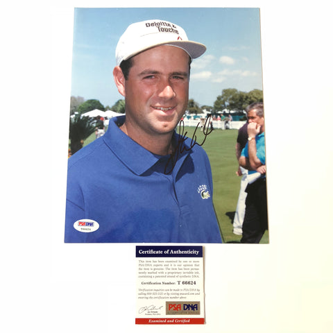 Stewart Cink signed 8x10 photo PSA/DNA Autographed