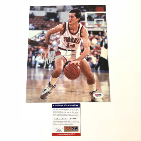 Jeff Hornacek signed 8x10 photo PSA/DNA Phoenix Suns Autographed
