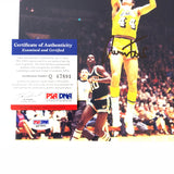 Jerry West signed 8x10 photo PSA/DNA Los Angeles Lakers Autographed