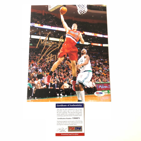 Meyers Leonard signed 8x10 photo PSA/DNA Portland Trailblazers Autographed