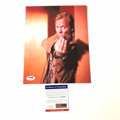 Kiefer Sutherland signed 8x10 photo PSA/DNA Autographed 24 Jack Bauer