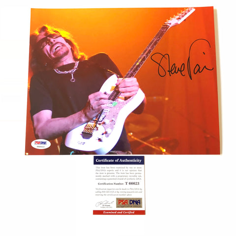 Steve Vai signed 8x10 photo PSA/DNA Autographed