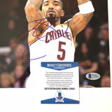 JR Smith signed 8x10 photo BAS Beckett Cleveland Cavaliers Autographed