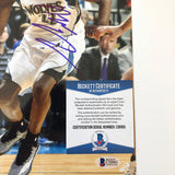 Andrew Wiggins signed 8x10 photo BAS Beckett Minnesota Timberwolves Autographed
