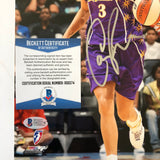 Candace Parker signed 8x10 photo BAS Beckett Los Angeles Sparks Autographed
