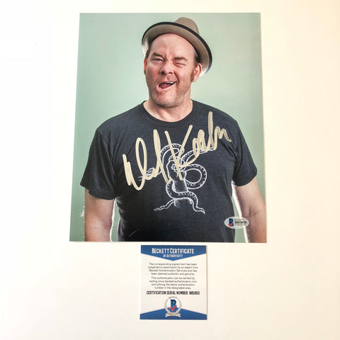 Dave Koechner signed 8x10 photo BAS Beckett Autographed