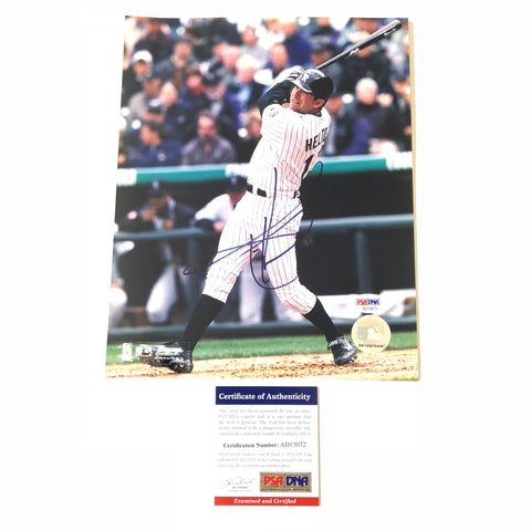 Todd Helton signed 8x10 photo PSA/DNA Colorado Rockies Autographed