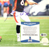 Jay Cutler signed 8x10 photo BAS Beckett Denver Broncos Autographed
