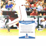 Yasmany Tomas signed 8x10 photo BAS Arizona Diamondbacks Autographed