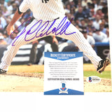 Joba Chamberlain signed 8x10 photo BAS Beckett New York Yankees Autographed
