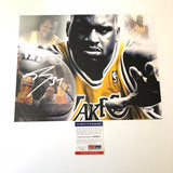 Shaquille O'Neal signed 11x14 photo PSA/DNA Los Angeles Lakers Autographed Shaq