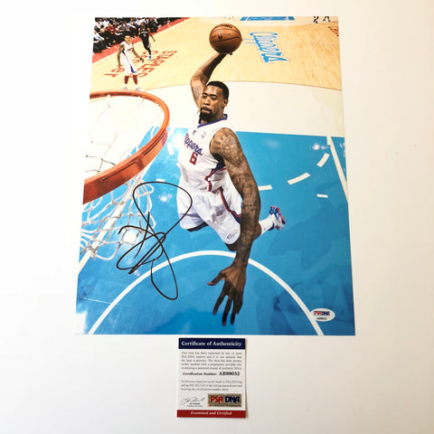 DeAndre Jordan signed 11x14 photo PSA/DNA Los Angeles Clippers Autographed